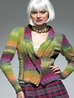 En Moda Bayan Mini Ceket Örgü Modelleri