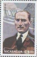 Dünya Pullarında Atatürk