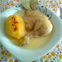 Terbiyeli Tavuk Haşlama.