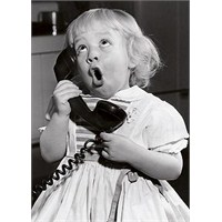 Babayla Telefonda Konuşmak