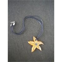 Deniz Yıldızı...(Seramik Kolye)
