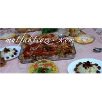 Bayram Yemeği Menüsü