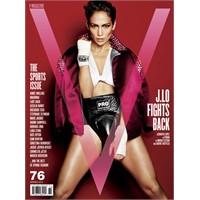 Jennifer Lopez V Magazine Fotoğrafları