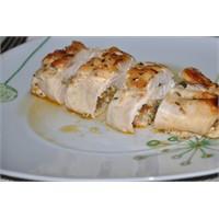 Fırında Sebzeli Tavuk Sarma Yediniz Mi?