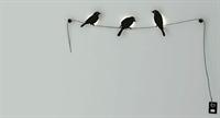 Kuşlu Oda Lambası