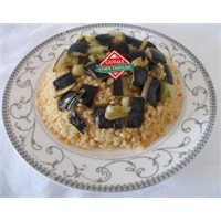 Patlıcanlı Pilav Tarifi - Gurme