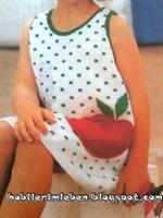 Harika Askılı Yazlık Çocuk Elbisesi