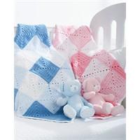 Pembe Ve Mavi Bebek Battaniyeleri