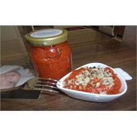 Köz Patlıcan Ve Kırmızı Biberli Ezme