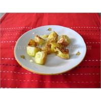 Parmak Besin Olarak Tarçınlı Patates
