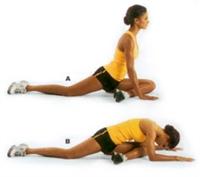 Sımsıkı Kalça Ve Bacaklar İçin Egzersizler