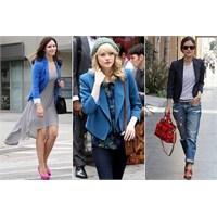 Bayanlara Özel Blazer Ceket Modası İzlenimleri