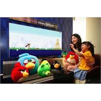 Hareket Kontrollü Angry Birds Samsung Tv'lerde