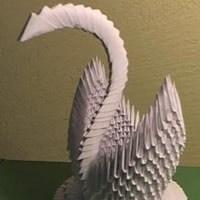 Origami İle Kuğu Yapmak