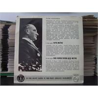 Kendi Sesiyle Atatürk Plağı