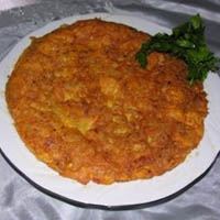 Patatesli Omlet...