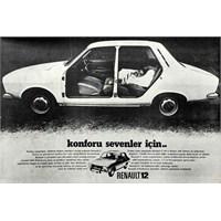 Eşsiz Renault 12 Konforu