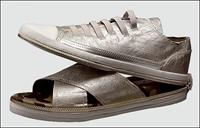 Sandalete Dönüşebilen Ayakkabı