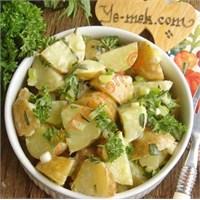 Taze Patates Salatası (Resimli Anlatım)