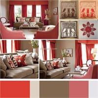 Ev Dekorasyonunda Kırmızı Kullanımı