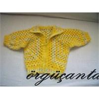 Sari Minik Mont (Yellow Cardigan)