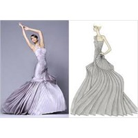 Gri Abiye Elbise Modelleri