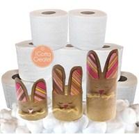 Çocuklarımız İle Tuvalet Kağıdı Rulosundan Tavşan