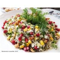 Narlı Nefis Karnıbahar Salatası Tarifi