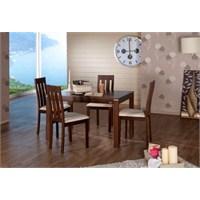 Ahşap Mutfak Masa Sandalye Setleri