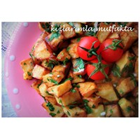 Sarımsak Soslu Patates Kızartması & Karlı Günler