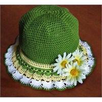 Küçük Hanımlar İçin Yazlık Şapka