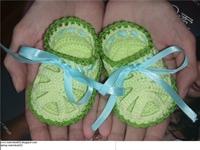 Çok Şirin Kız Bebekler İçin Patik Sandalet Modeli