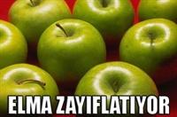 Yemekten Önce Elma, Zayıflatıyor.
