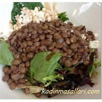 Yeşil Mercimek Salatası Tarifi Burda