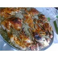 Tavuk Büryan Yemeği