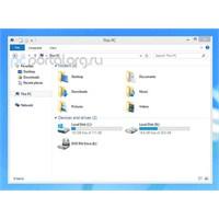 Windows 8.1'de Bilgisayarım Simgesi Artık Yok Mu?