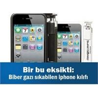 Biber Gazı Sıkabilen İphone Kılıfı!