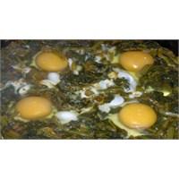 Yumurtalı İspanak Tarifi