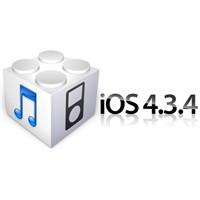 Apple İos'u 4.3.4 Sürümüne Güncelledi