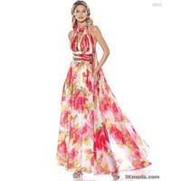 Renkli Abiye Modelleri 2014