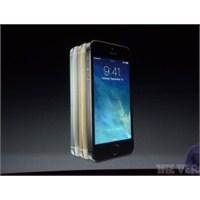 İphone 5s Tanıtıldı