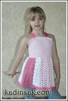 Kız Çocukları İçin Örgü Modelleri