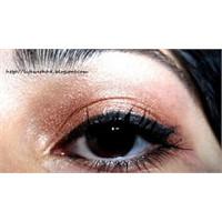 Doğal Ve Günlük Kahverengi Göz Makyajı