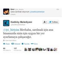 Twitter'in Şirinlik Muskası Kadıköy Belediyesi