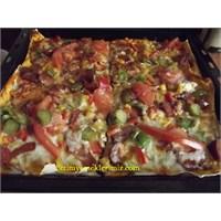 Yufka Pizza Nasıl Yapılır – Video
