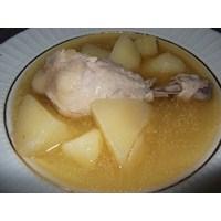 Patetesli Tavuk Haşlama Yemeği