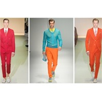 2013 İlkbahar- Yaz Erkek Modası: Neon Renkler