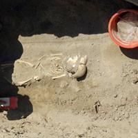 Van'da Ortaçağ'a ait mezarlık