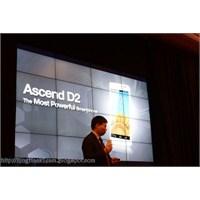 Video- Huawei Ascend D2 Ces 2013' Te Tanıtıldı!