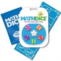 Mathdice Jr. Kids First Mental Math Game